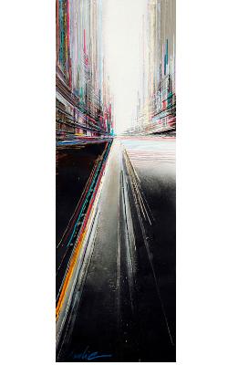 leslie berthet laval artiste peintre tableau huile résine acrilyque toile canvas