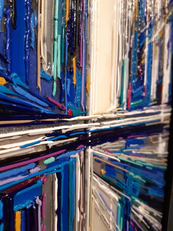 leslie berthet laval artiste peintre toile huile adrilyque résine art