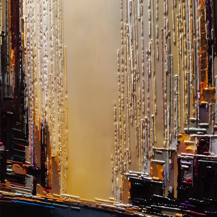 leslie berthet laval artiste peintre art culture frenche toile canvas acrilyque huile résine seringue