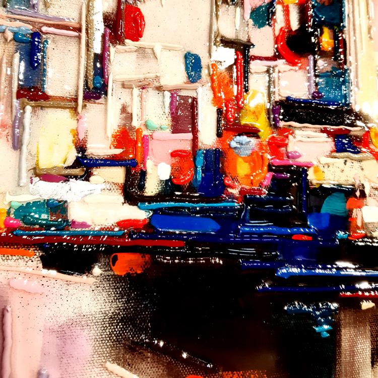 leslie berthet laval artiste peintre peinture arcilyque huile résine art toile canvas galerie