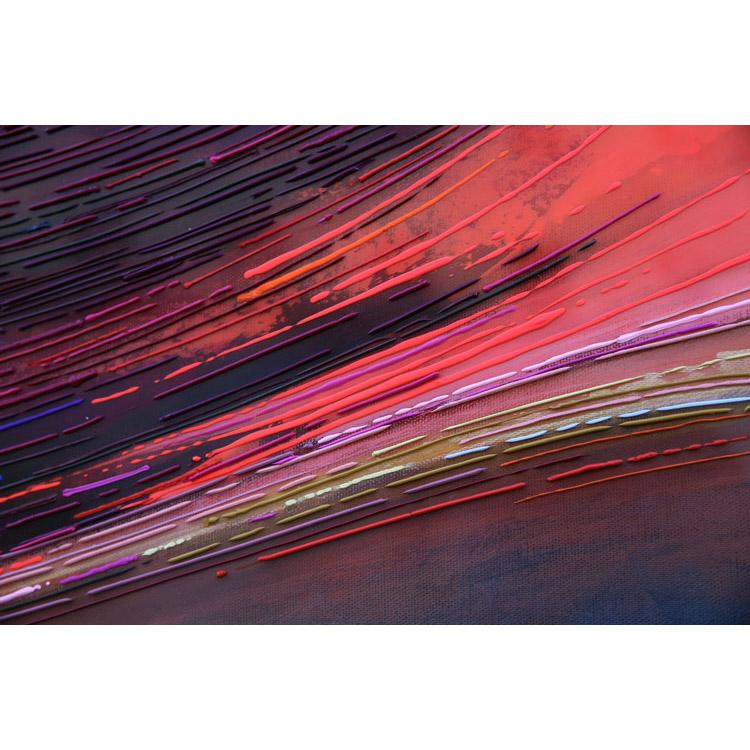 Détail 2 Crépuscule 50x50 cm ref URB0379
