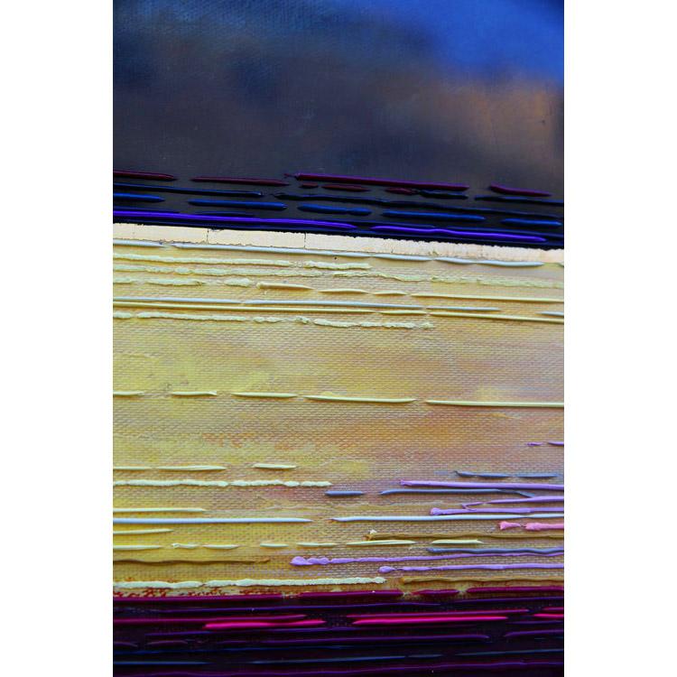Détail 3 Crépuscule 50x50 cm ref URB0379