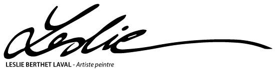 L'atelier galerie de Leslie Logo